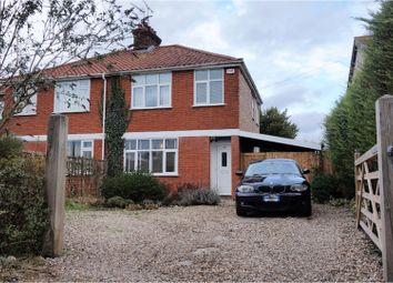 Thumbnail 3 bedroom semi-detached house for sale in Church Lane, Ipswich