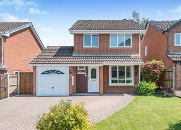 Thumbnail 3 bed detached house for sale in Calshot Drive, Chandlers Ford, Eastleigh