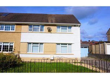 Thumbnail 3 bed semi-detached house for sale in Ynys Cadwyn, Neath