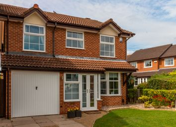Thumbnail 4 bed detached house for sale in Glenfield Close, Solihull