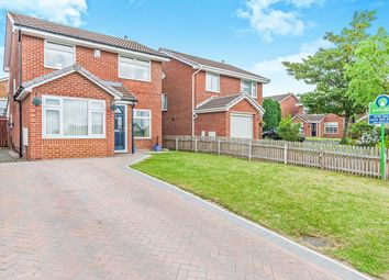 Thumbnail 4 bed detached house for sale in Lancaster Drive, Wallsend