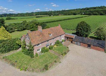 Thumbnail 5 bed farmhouse to rent in Gaysham Farmhouse, Westerham