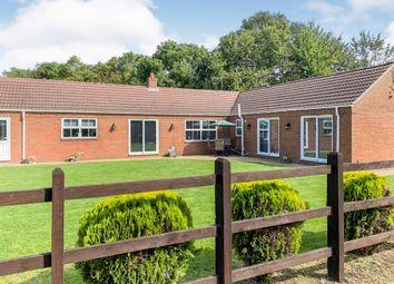 Thumbnail 4 bed detached bungalow for sale in Lutton Gowts, Lutton, Spalding