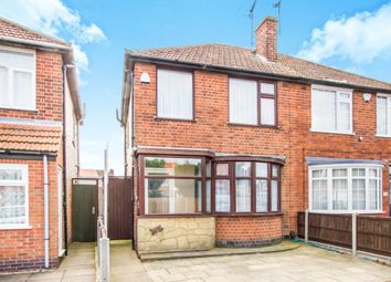 Thumbnail 3 bed semi-detached house for sale in Ravenhurst Road, Braunstone Town, Leicester