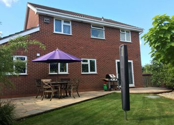 Thumbnail 4 bed detached house for sale in Spencer Close, The Prinnels, Swindon, Wiltshire