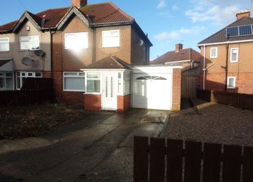 Thumbnail 3 bed semi-detached house to rent in Princes Gardens, Blyth
