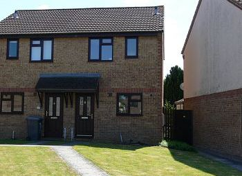 Thumbnail 2 bed terraced house to rent in Kingfisher Drive, Westbury, Wiltshire