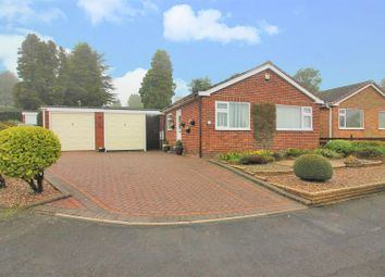 Thumbnail 2 bed bungalow for sale in Trinity Close, Ashby-De-La-Zouch