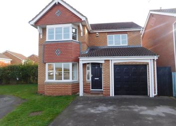 Thumbnail 4 bed detached house to rent in Alexander Drive, Worksop