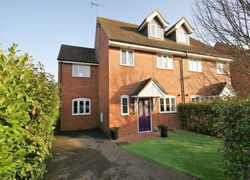 Thumbnail 4 bedroom semi-detached house for sale in Milliners Green, Thorley, Bishop's Stortford