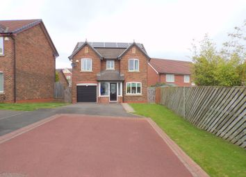 Thumbnail 4 bed detached house for sale in Selset Close, Hartlepool