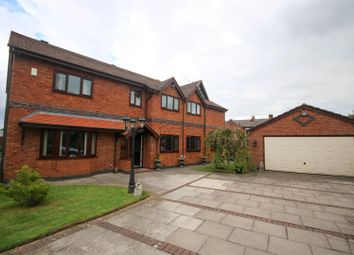 Thumbnail 7 bed detached house for sale in Shearwater Gardens, Eccles, Manchester