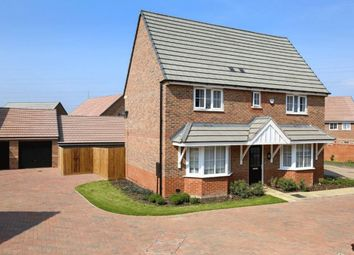 "Thumbnail 4 bed detached house for sale in ""Alnwick"" at Eldon Way, Crick Industrial Estate, Crick, Northampton"