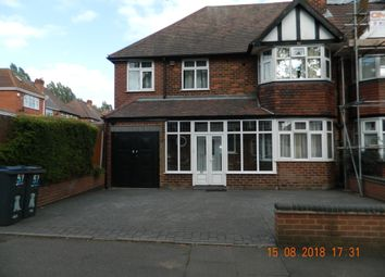 Thumbnail 5 bed semi-detached house to rent in Radstock Avenue, Hodge Hill, Birmingham
