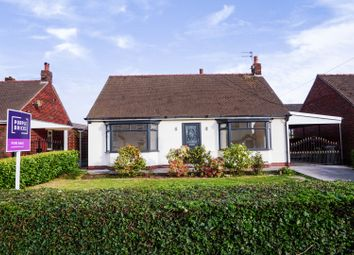 Thumbnail 3 bed detached bungalow for sale in Stone Cross Lane North, Warrington