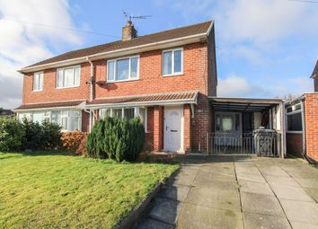 Thumbnail 3 bed semi-detached house for sale in Curbar Curve, Inkersall, Chesterfield