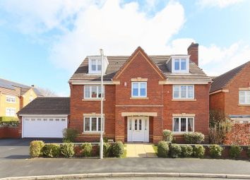 Thumbnail 5 bed detached house for sale in Finchale Avenue, Priorslee, Telford