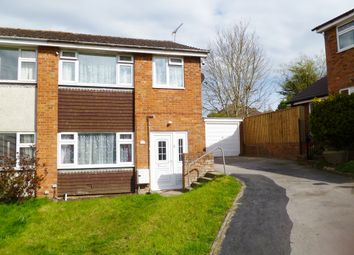 Thumbnail 3 bed semi-detached house for sale in Valleyside, Swindon