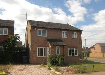 Thumbnail 2 bedroom semi-detached house to rent in Aquitaine Close, Duston, Northampton