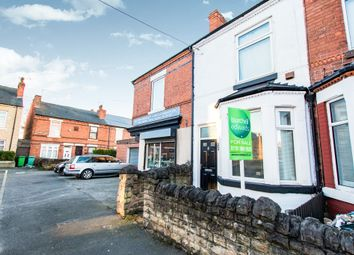 Thumbnail 2 bed terraced house for sale in Clarges Street, Bulwell, Nottingham