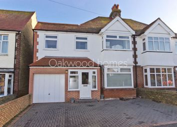Thumbnail 5 bed semi-detached house for sale in Waverley Road, Margate
