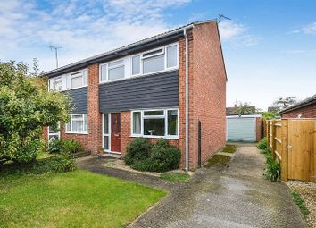 Thumbnail 3 bed semi-detached house for sale in Bakers Walk, Weston Turville, Aylesbury
