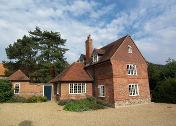 Thumbnail 4 bed detached house to rent in Cavick Road, Wymondham, Norfolk
