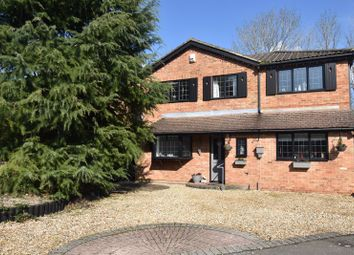 Thumbnail 5 bed detached house for sale in Minden Close, Chineham, Basingstoke