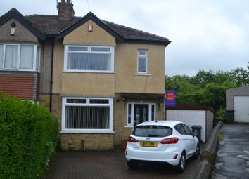 Thumbnail 3 bed semi-detached house for sale in Leaventhorpe Grove, Thornton, Bradford
