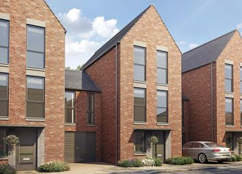 "Thumbnail 4 bedroom terraced house for sale in ""Elaa"" at Hauxton Road, Trumpington, Cambridge"