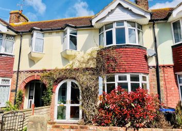 Thumbnail 3 bed terraced house for sale in Alverstone Road, Worthing, West Sussex