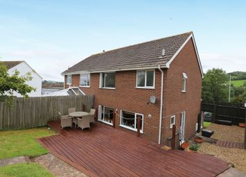 Thumbnail 3 bed semi-detached house for sale in Raleigh Road, Teignmouth