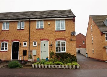 Thumbnail 3 bed end terrace house for sale in Swallow Crescent, Nottingham