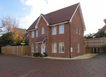 Thumbnail 3 bed detached house for sale in Bailey Close, Andover