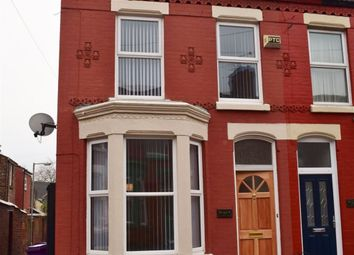 Thumbnail 3 bedroom terraced house to rent in Truro Road, Wavertree, Liverpool 15
