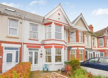 Thumbnail 4 bedroom terraced house for sale in Weymouth Road, Folkestone