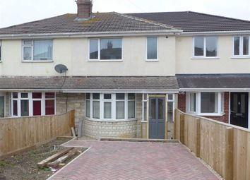 Thumbnail 3 bed terraced house for sale in Chickerell Road, Weymouth, Dorset
