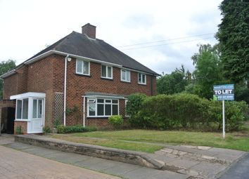 Thumbnail 2 bed semi-detached house to rent in Fairfax Road, Sutton Coldfield