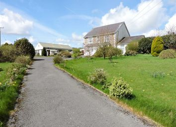 Thumbnail 4 bed farm for sale in Henfwlch Road, Carmarthen