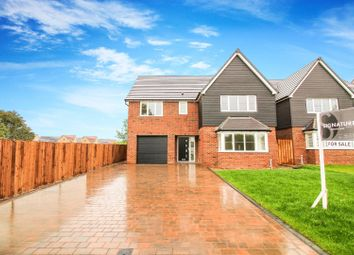 Thumbnail 4 bed detached house for sale in St Davids Park, Old Crow Hall Lane, Cramlington