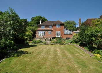Thumbnail 4 bed detached house for sale in Wodeland Avenue, Guildford