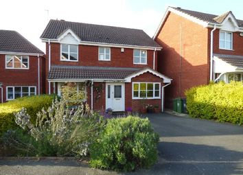 Thumbnail 4 bed detached house for sale in Leven Drive, St Peters, Worcester