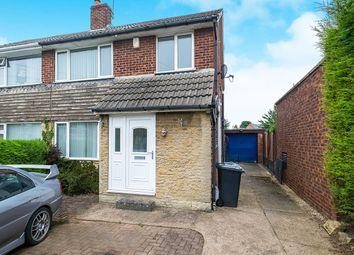 Thumbnail 3 bed semi-detached house to rent in Nursery Crescent, North Anston, Sheffield