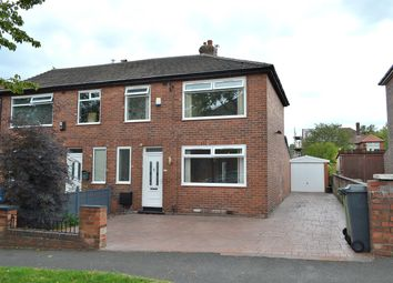 Thumbnail 3 bed town house for sale in Repton Avenue, Hollins, Oldham