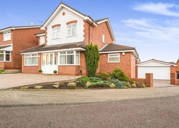 Thumbnail 4 bed detached house for sale in Fox Covert, Norton, Runcorn, Cheshire
