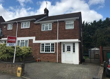 Thumbnail 3 bedroom semi-detached house for sale in Meyrick Avenue, Luton