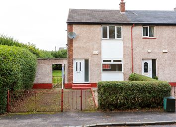 Thumbnail 2 bed end terrace house for sale in David Gray Drive, Kirkintilloch, Glasgow