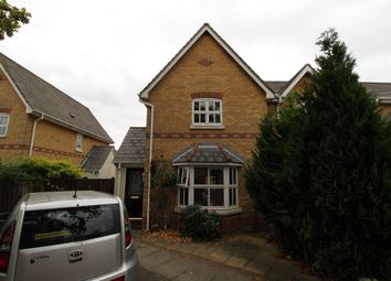 Thumbnail 3 bedroom end terrace house for sale in Chinook, Highwoods, Colchester
