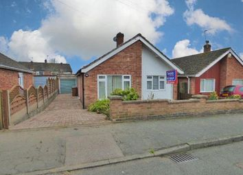 Thumbnail 2 bed detached bungalow for sale in Arnolds Crescent, Newbold Verdon, Leicester