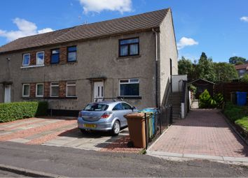 Thumbnail 2 bed flat for sale in Rockmount Avenue, Glasgow